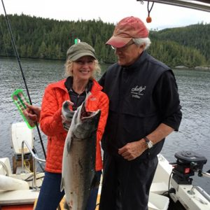 Salmon: The Sophisticated Navigator